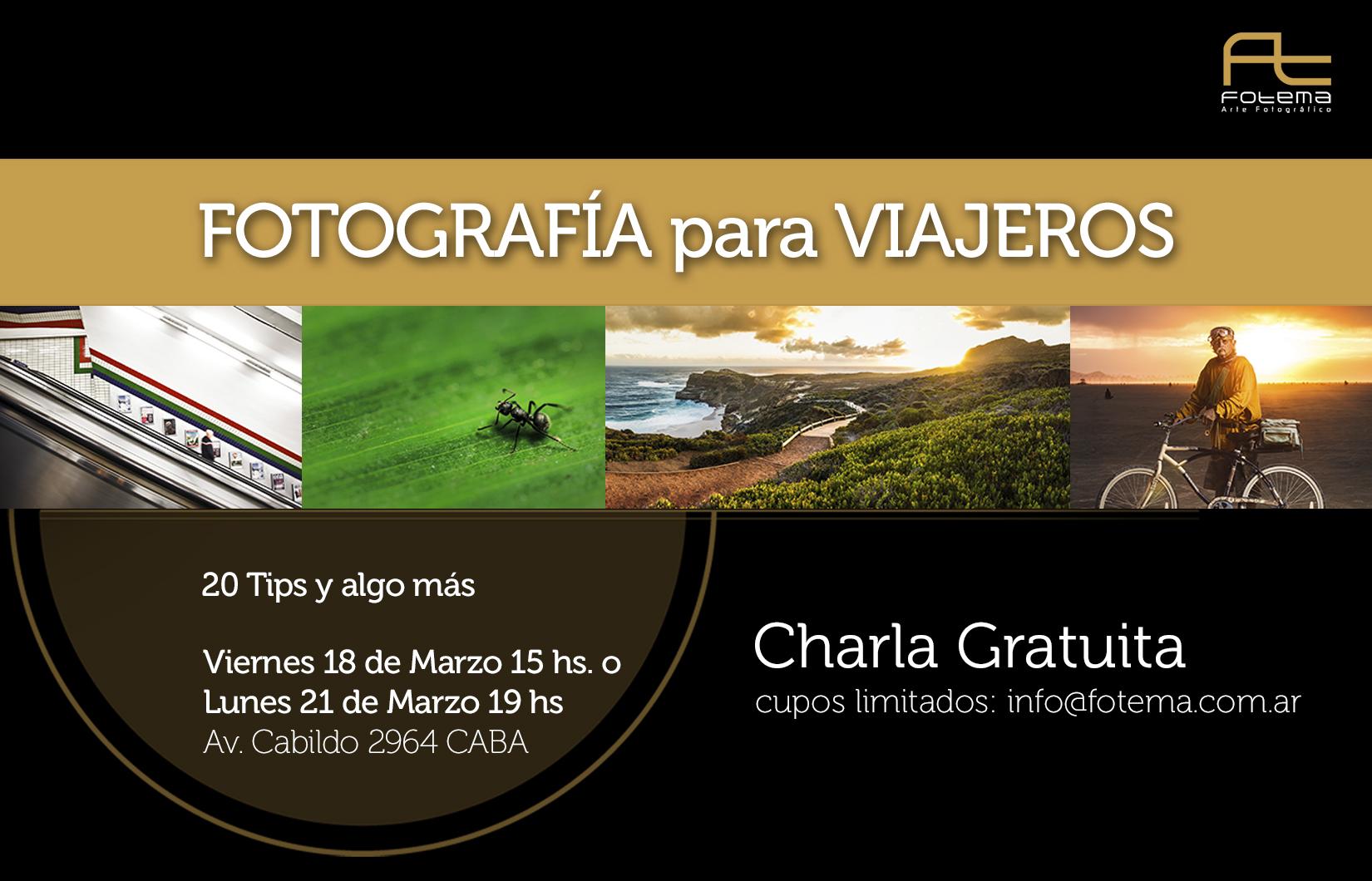 Fotografía para Viajeros