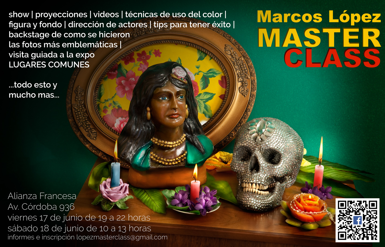 Master Class con Marcos López